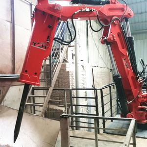 Stationary Type Pedestal Booms